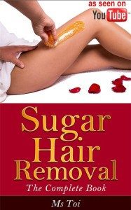 sugaring hair removal by Ms Toi as seen on YouTube