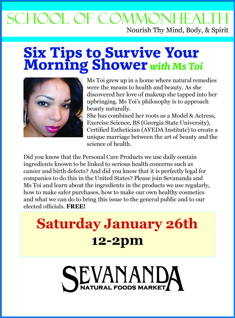 Sevananda Beauty Watch Class Ms Toi