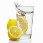 lemon water to balance pH level