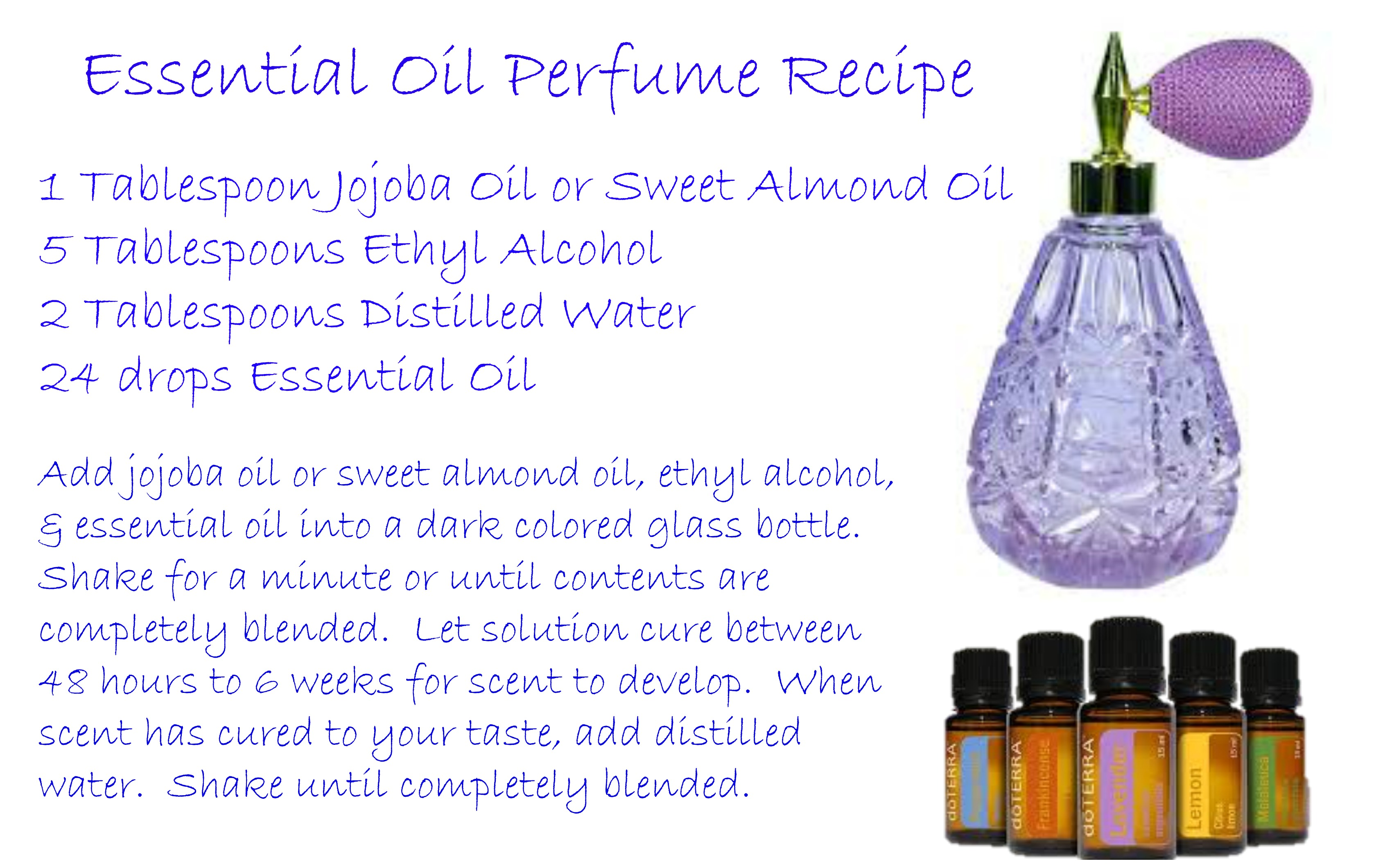 Essential oils perfume recipe ladies perfume - Homemade scent recipes ...