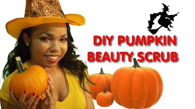diy pumpkin facial scrub Ms Toi